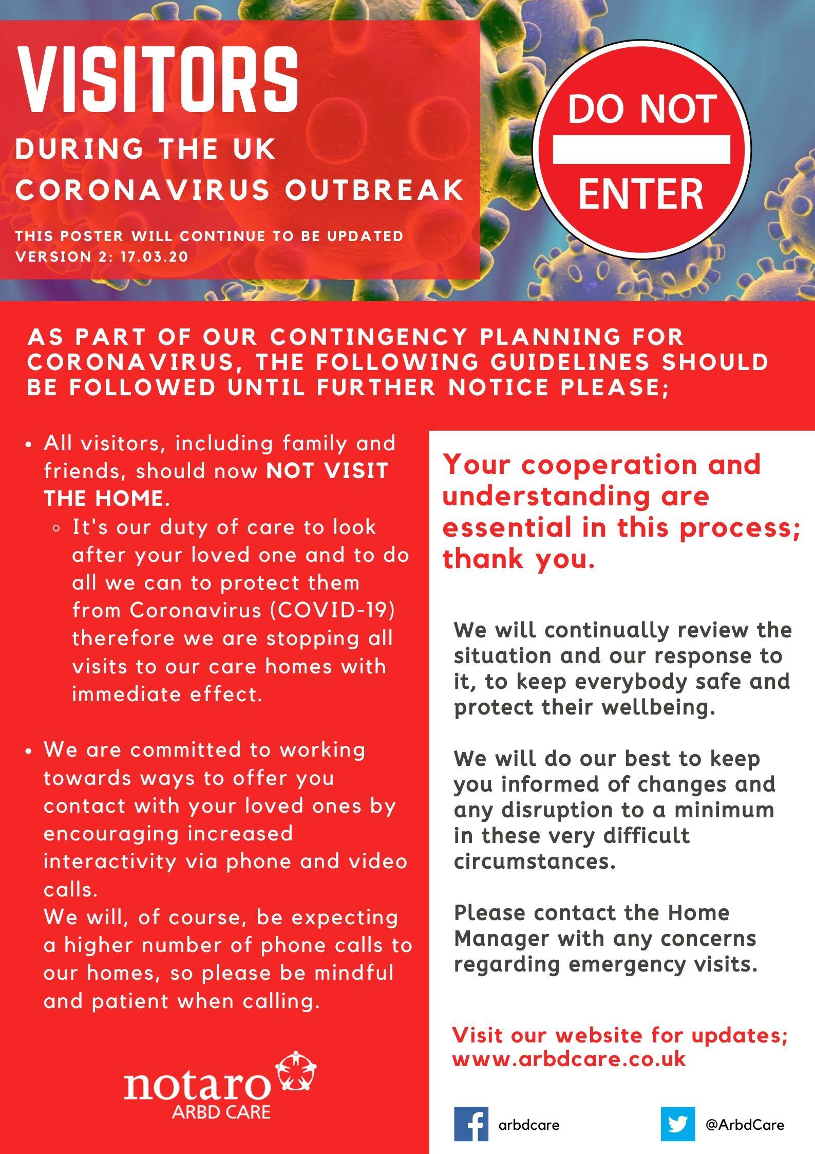 Coronavirus-Poster - ARBD Care